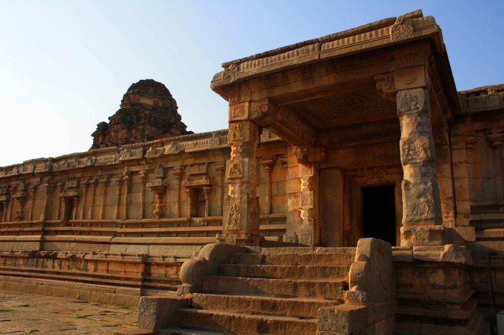 Inside the temple premises