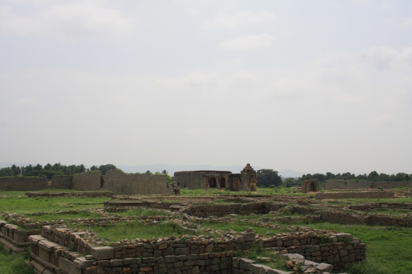 Near underground temple