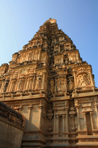 Virupaksha Temple close-up