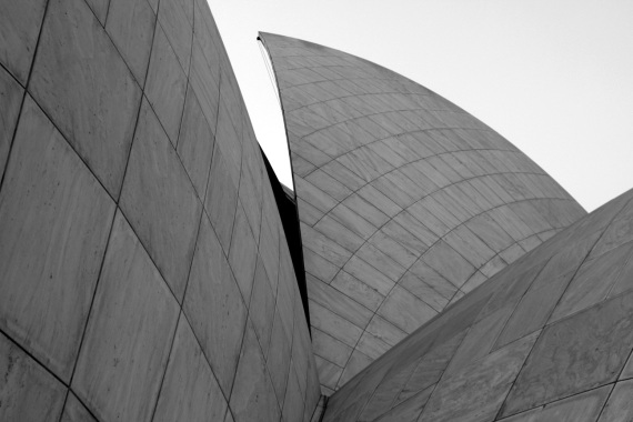 Lotus Temple Side View